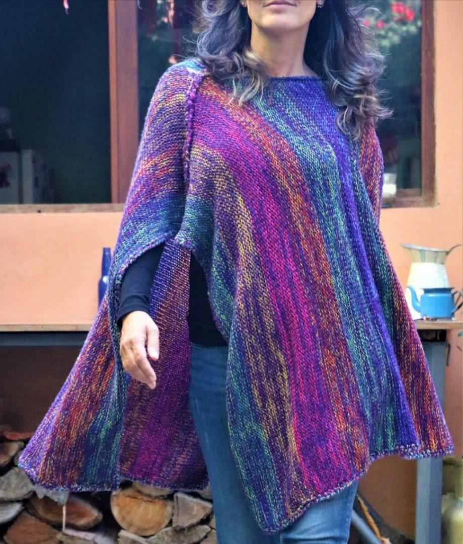 Ponchos oaxaca de lana baratos