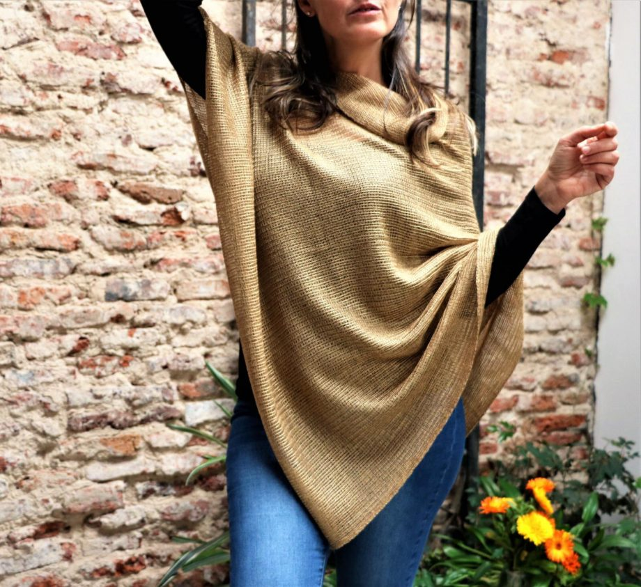 comprar poncho de lana barato