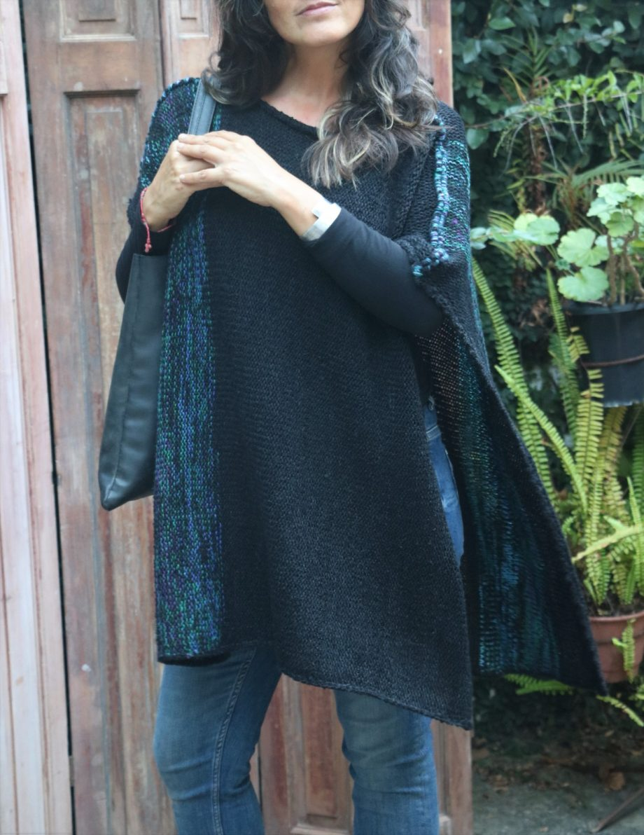 comprar ponchos oaxaca de lana