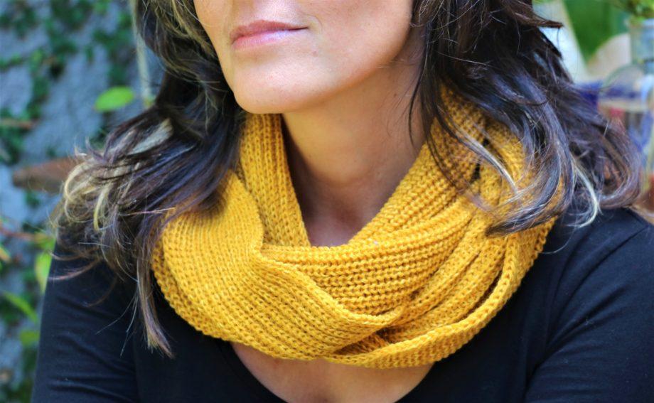 cuello de lana de calidad