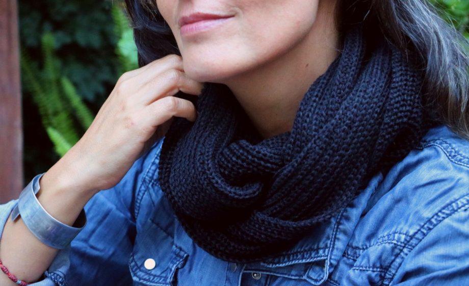 cuello de lana en oferta