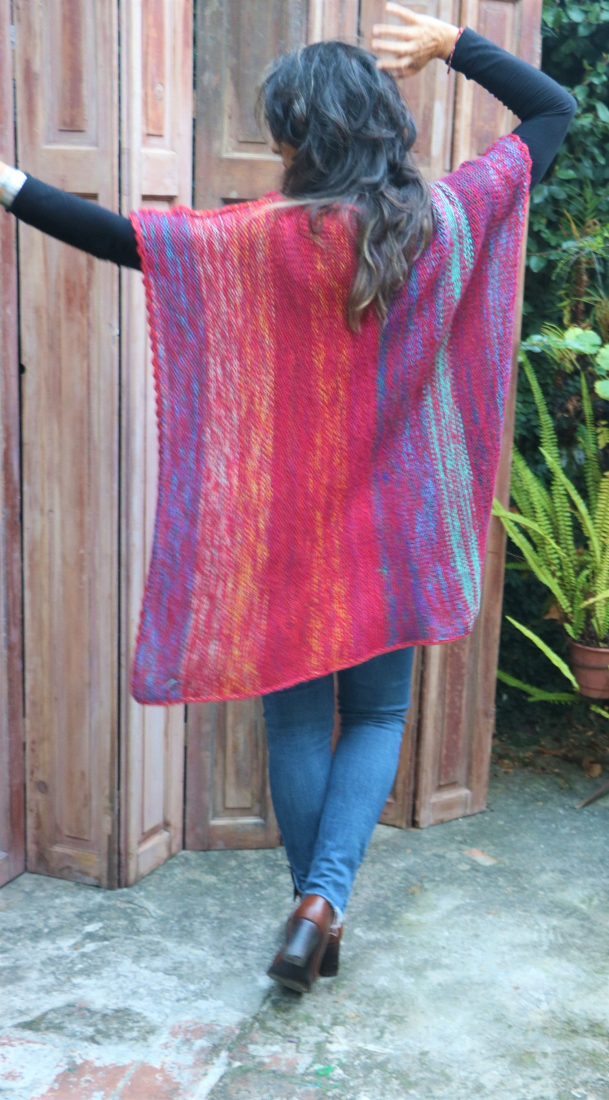 los mejores ponchos oaxaca de lana