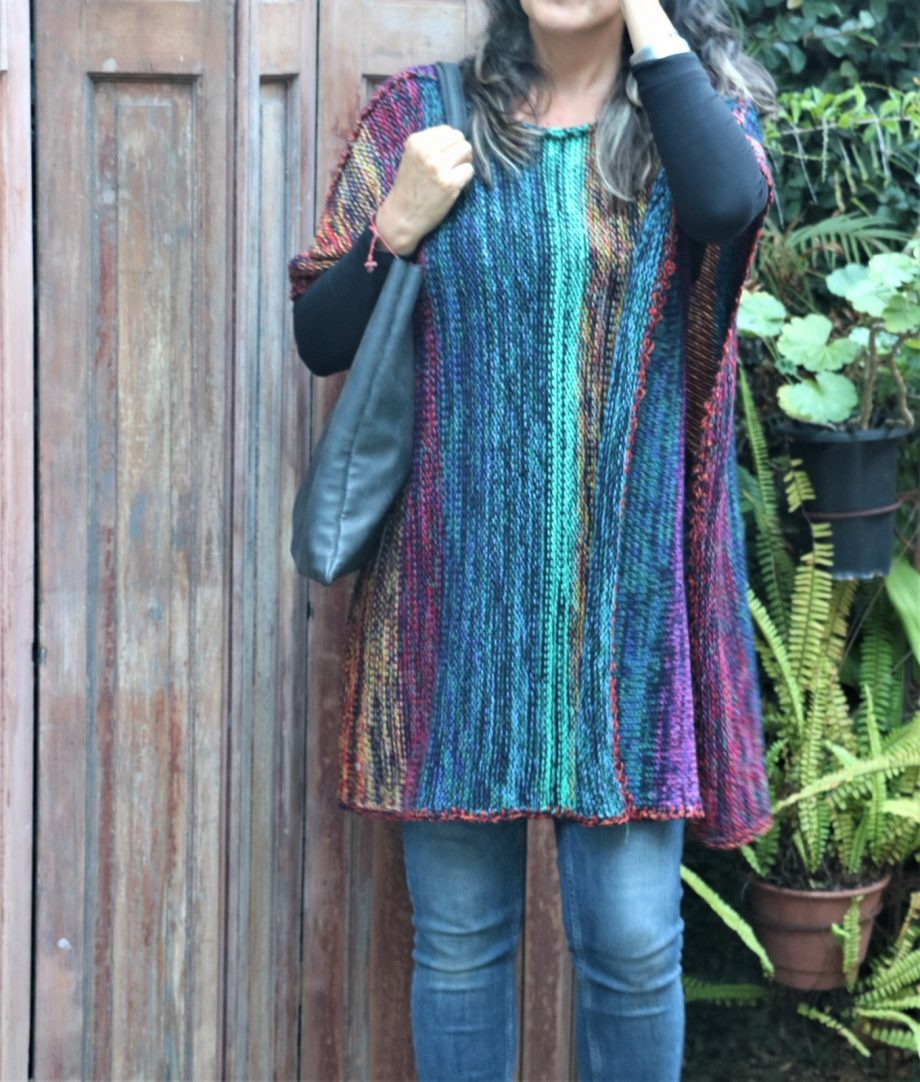 ponchos oaxaca de lana economicos