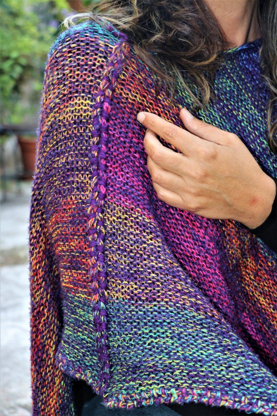tienda de ponchos oaxaca de lana